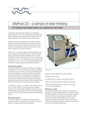 AlfaPure Z3