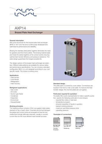 AXP14 - Gas cooler