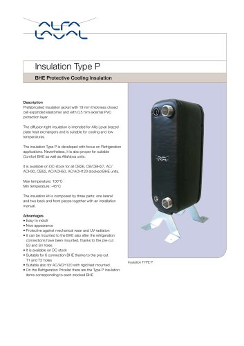 BHE Protective Cooling Insulation