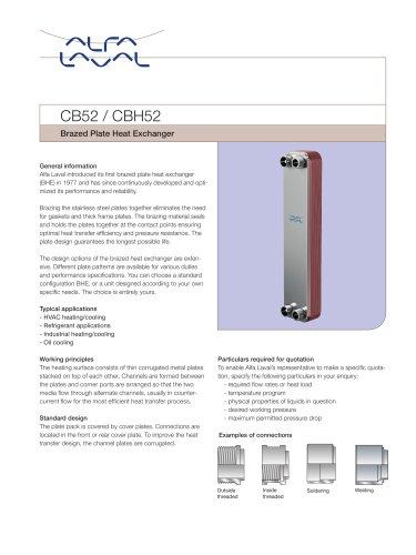 CB52 / CBH52