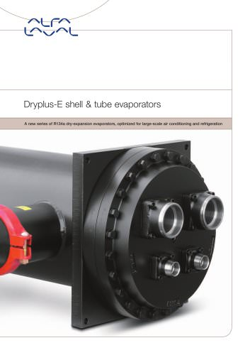 Dryplus-E shell & tube evaporators