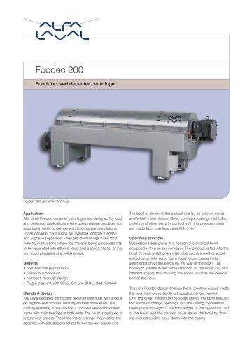Foodec 200