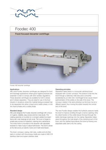 Foodec 400
