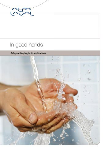 In good hands - Safeguarding hygienic applications