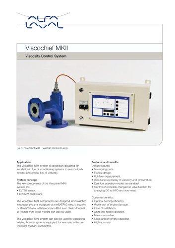 Viscosity control system