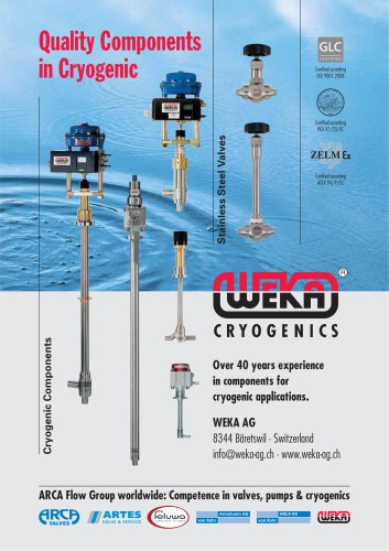 Quality Components in Cryogenic