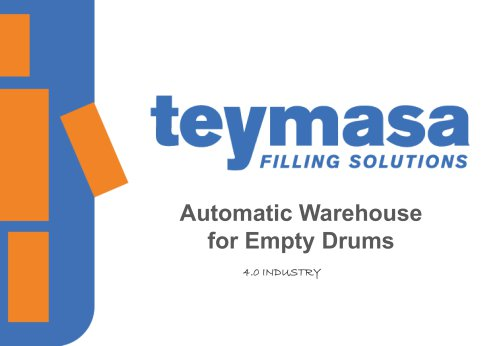 Automatic Warehouse for Empty Drums