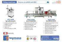 PS-100 / Filling machines Drums on pallet and IBC