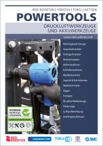 Powertools: Druckluftwerkzeuge und Akkuwerkzeuge