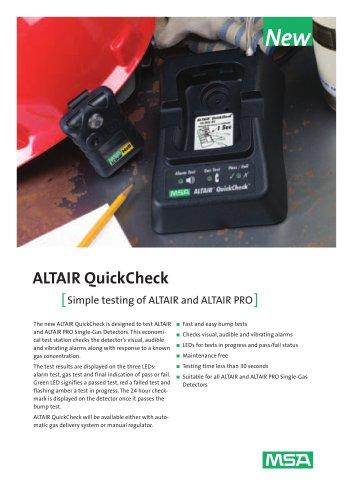 ALTAIR Quickcheck