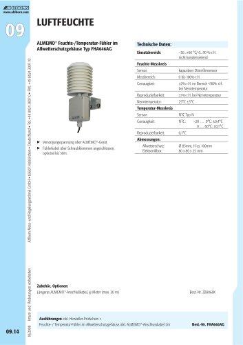 ALMEMO® Feuchte-/Temperatur-Fühler Typ FHA646AG