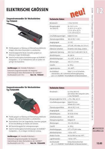 Zangenstromwandler für Wechselströme Typ FEA6049