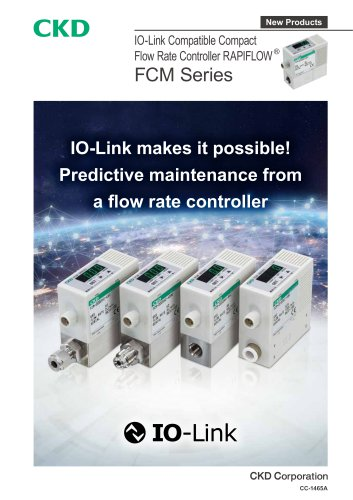 【NEW】FCM Series IO-Link Compatible