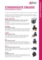 TEC-11 Timer controlled condensate drain