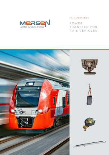 Power Transfer for Rail Vehicles Solution
