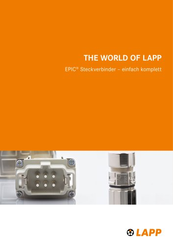 EPIC® Steckverbinder – einfach komplett