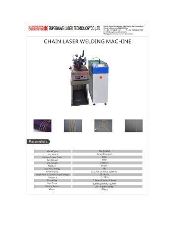 Catalog for Chain Laser Welding Machine