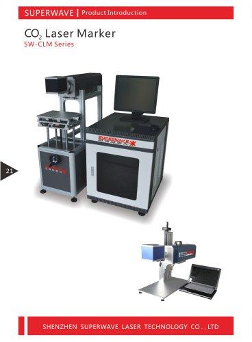 Superwave laser Co2 laser marking machine