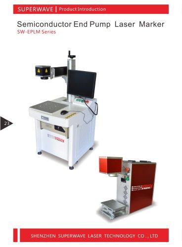Superwave laser diode pump laser marking machine