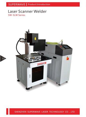 Superwave laser scanner welding machine