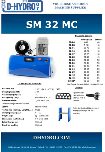 SM 32 MC