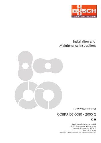 COBRA DS 0080 / 0160 G