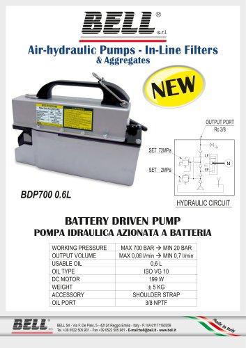 BDP-SERIE - Batteriebetriebene Elektrohydraulikpumpe