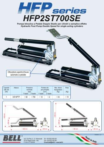 HFP-SERIE - Einstufige manuelle Einwirkungs-Hydraulikpumpe