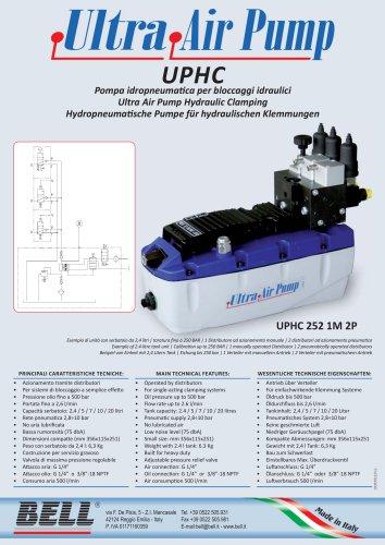 UP - UPHC SERIE - Hydropneumatische Pumpe für mehrere Antriebe