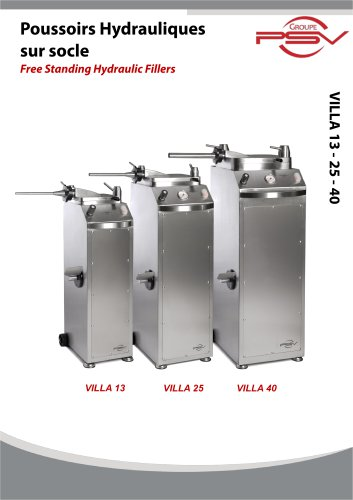 Free Standing Hydraulic Fillers