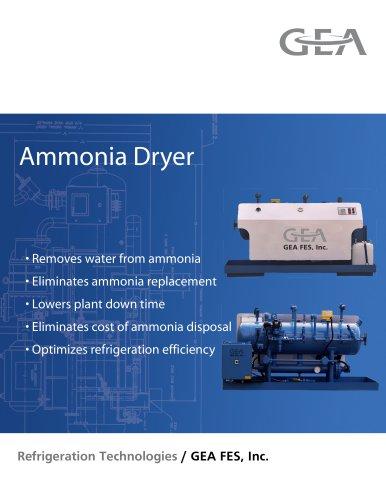 Ammonia Dryer