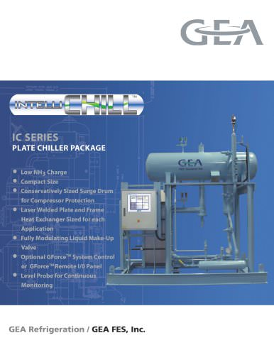 FES IC SERIES PLATE CHILLER PACKAGE