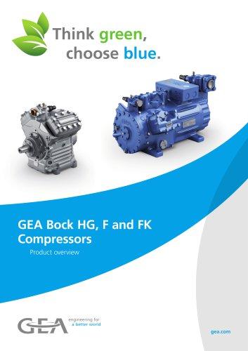 GEA Bock HG, F and FK Compressors