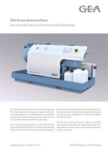 GEA Grasso Ammonia Dryer