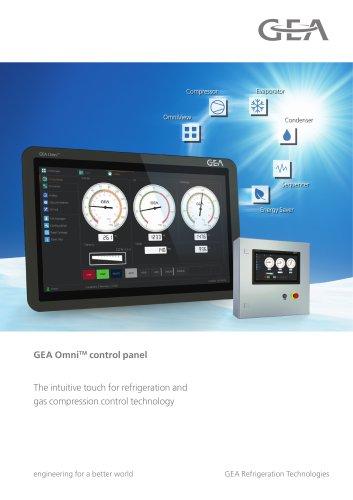 GEA OmniTM control panel