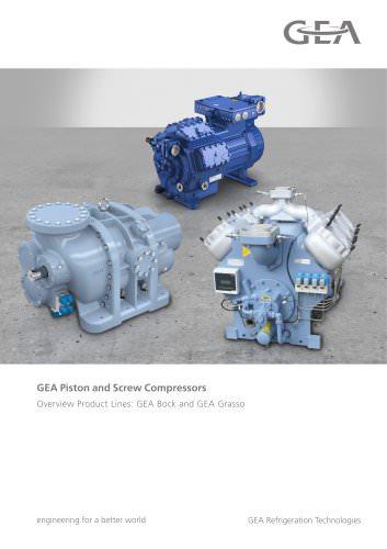 GEA Piston and Screw Compressors