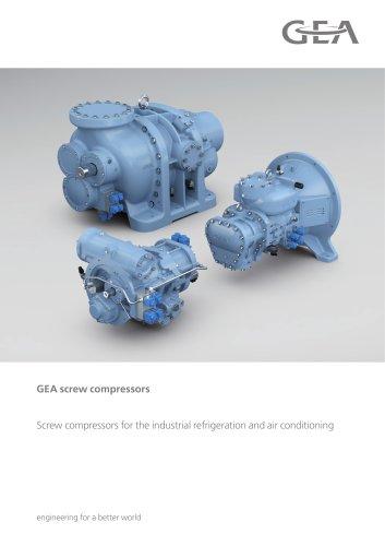 GEA screw compressors