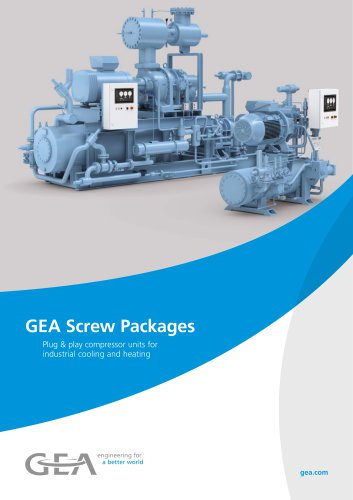 GEA Screw Packages