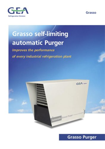 Grasso self-limiting automatic Purger