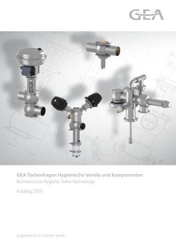 Hygienische Ventile und Komponenten