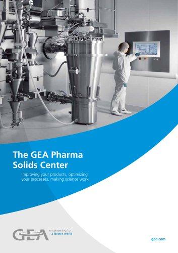 The GEA Pharma Solids Center