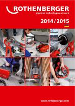 ROTHENBERGER Katalog 2014/15