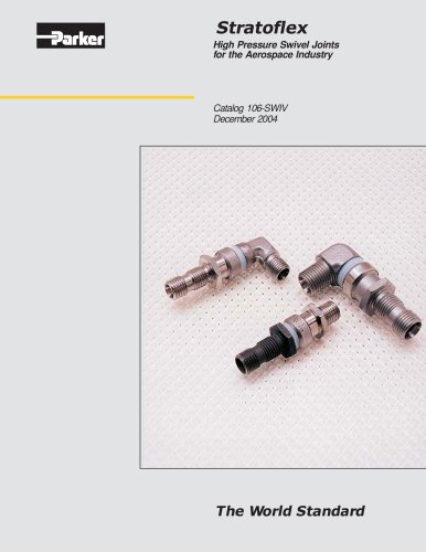 Stratoflex High Pressure Swivel Joints for the Aerospace Industry