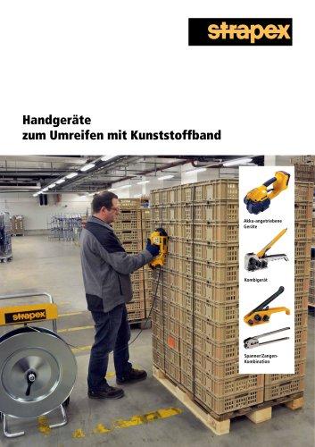 Handgeräte zum Umreifen mit Kunststoffband