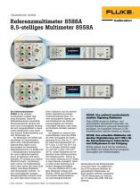 Referenzmultimeter 8588A 8,5-stelliges Multimeter 8558A
