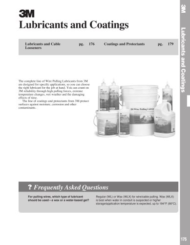 EMD Catalog Lubricants and Coatings Product Pages