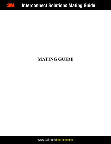 M3 Interconnect Solutions Mating Guide