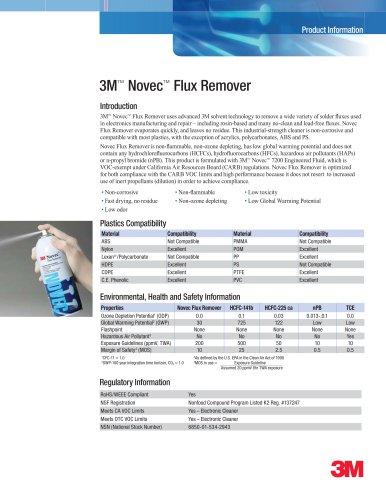 Novec Flux Remover