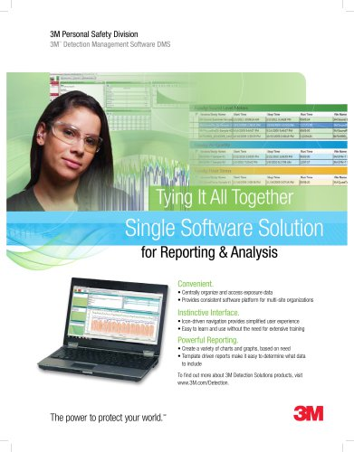 3M? Detection Management Software Brochure