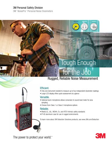 3M? NoisePro Product Brochure